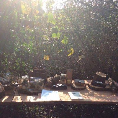 Kruiden uit de tuin verwerkt