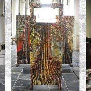 Exposie Sint Barbarakerk Culemborg