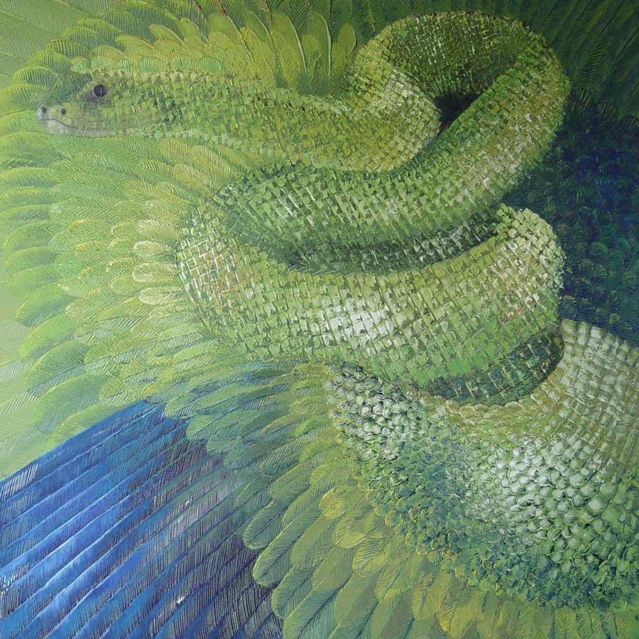 Reina quetzalcoatl